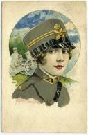 I.147.  CHERUBINI M.  -  Donna In Uniforme Militare - Sin Clasificación