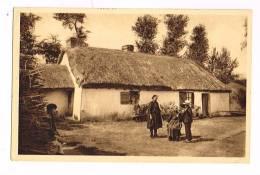 DE SION à ST-JEAN-DE-MONTS ( Vendée )  Une Bourrine - Habitation Des Maraîchins - Autres Communes