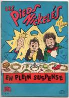 BD N°53 - Les Pieds Nickelés En Plein Suspense - Pellos - Edition 1965 - Pieds Nickelés, Les