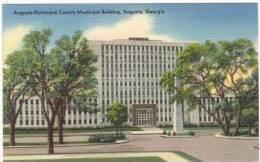 County-Municipal Building, Augusta, Georgia, 30-40s