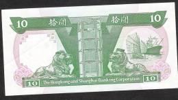 HONG-KONG   P191c   10  DOLLARS   1.1.1992    UNC. - Hong Kong