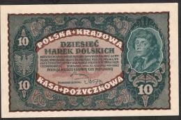 POLAND   P25   10    MAREK   1919    UNC. - Pologne