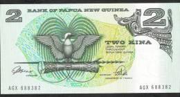 PAPUA NEW GUINEA   P5c   2   KINA    1981 Signature 3   UNC. - Papua New Guinea