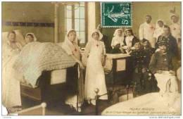 PARIS 16è  Hôpital Militaire De La Croix Rouge Du Lycée Janson De Sailly - Croce Rossa