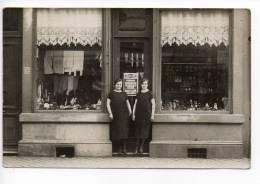 Liège St Nicolas : Carte-photo Magasin De Chaussures Et Vêtements  1925 - Liège