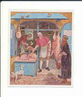 Metzgerladen / Boucherie /  Boucher Métier / Viande Cochon Pig Animal // IM 39/10 - Other