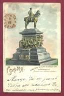 A11782 / USED STAMP LION 1895  Sofia - MONUMENT TZAR LIBERATEUR ALEXANDRE II -  Bulgaria Bulgarie Bulgarien Bulgarije - Bulgarije