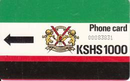 KENYA(Autelca) - K.P.T.C. Logo(no Notch-normal 0), First Issue 1000 Units, Used - Kenya