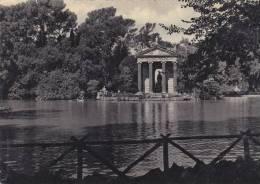 Rome - Villa Borghese - Lac - Temple D'Esculape - Roma (Rome)
