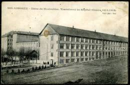 CP   Limpoges  --  Usine Masloubier Modif. Hôpital  --  Circ. En 1918  /  Dest. : Armée Belge En Campagne - Limoges
