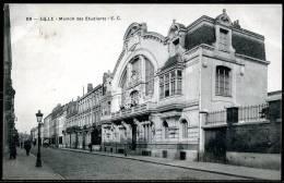 CP   LIlle   ---   Maison Des Etudiants  --  Circulé En 1910 - Lille