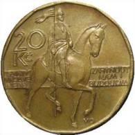 CZECH REPUBLIC - 20 KORUNA 1993 - KM 5 - Vz - Tchéquie