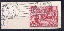 Vatican1952:Michel182used On Piece - Vatican
