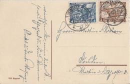 DR Karte Mif Minr.499,500 Wormditt 30.12.33 - Deutschland