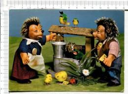 MECKI  -  Attraktive Spieltiere Von Der  Margarete Steiff  -   Au Puits - Mecki