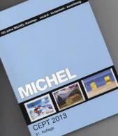 Briefmarken Katalog CEPT 2013 New 52€ MlCHEL Mit Jahrgangstabelle Von Europa Vorläufer NATO EFTA KSZE Symphatie-Ausgaben - Literatur