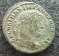 #320 - Maximianus - GENIO POPVLI ROMANI- VF! - 6. La Tétrarchie (284 à 307)