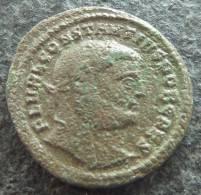 #321 - Constantinus I - GENIO POPVLI ROMANI! - VF! - 6. La Tétrarchie (284 à 307)