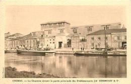 COGNAC LA CHARENTE DEVANT LA PARTIE PRINCIPALE DES ETABLISSEMENTS HENNESSY - Cognac