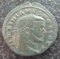 #326 - Maximianus - SACRA MONET AVGG ET CAESS NN - VF! - 6. La Tétrarchie (284 à 307)