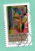 FRANCE 2012 - Y&T N° A 706 : PEINTURE DU XXè SIECLE - CUBISME : A. HERBIN - NATURE MORTE A LA BOULE ROUGE - Used Stamps
