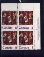 CANADA, 1976, # 697, CHRISTMAS: LA NATIVITY MNH     UR BLOCK - Blocs-feuillets