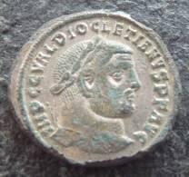 #329 - Diocletianus - GENIO POPVLI ROMANI - XF! TOP!! - 5. L'Anarchie Militaire (235 à 284)