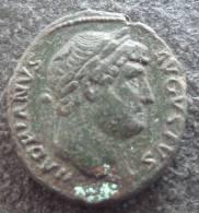 #336 - Hadrianus - SALVS AVG S-C - XF! - 3. Les Antonins (96 à 192)