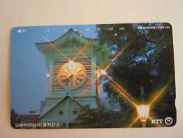 Japan Japon Phonecard NTT 105-431-116 1993 Horloge Used - Télécartes