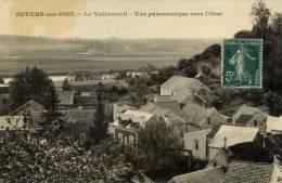 95- AUVERS-Le  VALHERMEIL-Vue Panoramique Vers L´Oise- - Auvers Sur Oise