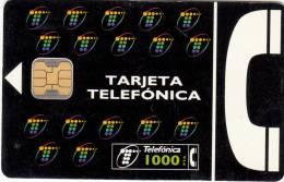 SPAIN - Telefonica Telecard 1000 Ptas, Chip F3, 01/95, Used - Spain
