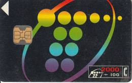 SPAIN - Telefonica Telecard 2000 Ptas, Chip F2, 01/94, Used - Spain