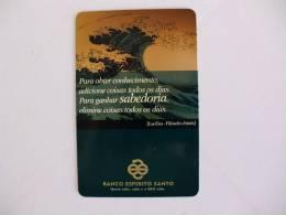 Bank/Banque/Banco Espirito Santo Portuguese Pocket Calendar 2002 - Calendarios