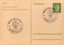 ENTIER POSTAL 1942 - NEUF - OBLIT.TEMPORAIRE - APPEL AU  SPORT - - Germany