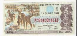 Lotto - Lottery Tickets - Turkey - Turkiye - Lottery Tickets