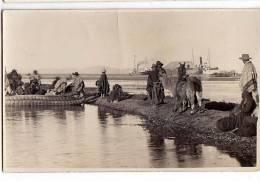 PERU REAL PHOTO PAISAJE LAGO TITITCACA , PUNO PERU, - 1930.OLD POSTCARD - Peru
