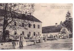 SLOVENIA BREGANA TVORNICA STAPOVA BARONA ALLNOCHA FACTORY Stick Allnoch,FREIHERR ALLNOCH'SCHE STOCKFABRIK  OLD POSTCARD - Slovenia