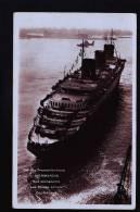 LE NORMANDIE CP PHOTO - Passagiersschepen
