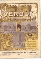 VERDUN (MEUSE) / FASCICULE TOURISTIQUE LES DEUX GRANDS CIRCUITS - Vieux Papiers