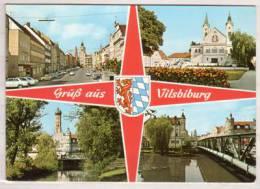 Vilsbiburg , Mehrbildkarte - Vilsbiburg