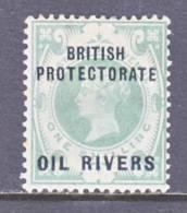 Niger Coast Protectorate  6  *  OIL  RIVERS - Nigeria (...-1960)