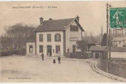 CPA 91 BALLANCOURT La Gare Du Chemin De Fer 1910 - Ballancourt Sur Essonne