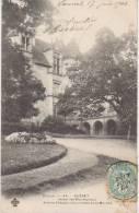 CPA 23 GUERET Hôtel Des Meuneyroux Le Jardin 1904 - Guéret