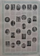 Tableau D´Honneur 317 / 318 Au Verso - Bujon - Gilquin - Pouget - Latil - Laluc - Mascré - Druon - Page Original 1 - Documents Historiques