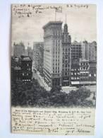 Cpa, Précurseur, Très Belle Vue, Bank Of The Metropolis And Decker Bdg, Broadway & 16th St, New York - Other
