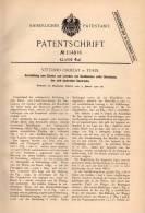 Original Patentschrift - Vittorio Croizat In Torino / Turin , 1900 , Apparecchiatura Per Luci , Lampada !!! - Luminari