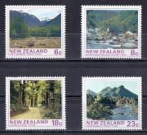 New Zealand 1975 Forest Parks Set Of 4 MNH - New Zealand