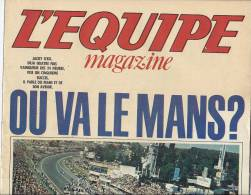 Equipe Magazine 24h Du Mans Course Voiture  Ickx  Hinault - 1980 - Automobile - F1