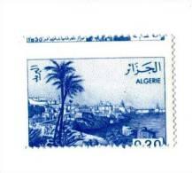 ALGERIE - 1984 - Yvert N°816a - Variété Sur Désignation En Haut De La Dentelure - Algérie (1962-...)
