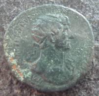 #344 - Hadrianus - SALVS PVBLICA S-C - XF! - 3. Les Antonins (96 à 192)